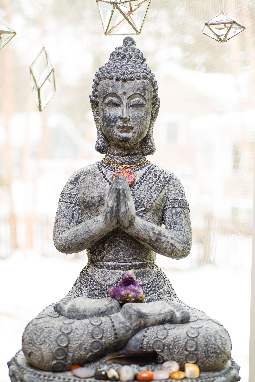 Budda Statue at Sonya Masur